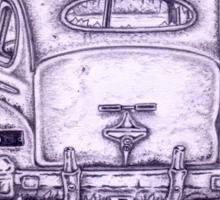 Moonlit Mercury II Sticker