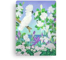 Violet Cockatoo Canvas Print