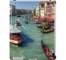 Traffic on the Grand Canal iPad Case/Skin
