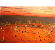 Australiana  (Aussie Bush Cricket)  EJCairns  Original Sold  Photographic Print