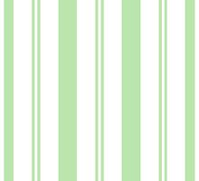Green Stripes by WanderingMuse