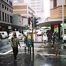 rain in Sydney by adam pearson