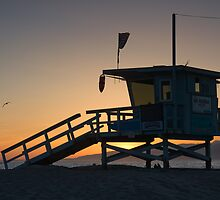 Santa Monica Sunset by Chris Putnam