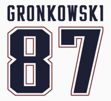 Rob Gronkowski by trevorbrayall