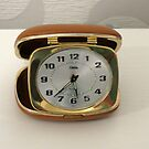 To Tick Or Not To Tick? Vintage Travel Clock by BlueMoonRose