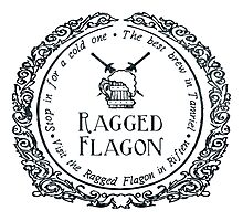 Visit the Ragged Flagon! Photographic Print