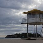 life saving tower by Anne Scantlebury