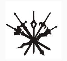 All Smash Bro's Fire Emblem Character Swords No Logo by batikla