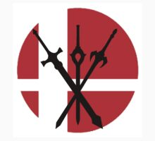 Super Smash Bro's Fire Emblem swords by batikla