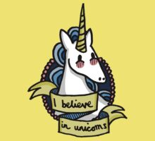 I Believe in Unicorns Kids Clothes