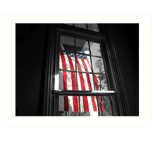 American Window  Art Print