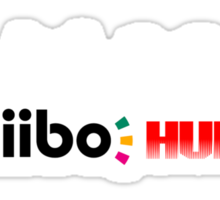 The Amiibo Hunter Shirt #2 Sticker