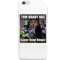 Tom Brady Has Four 4 Super Bowl Rings! iPhone Case/Skin