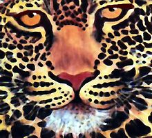 Leopard Watercolour by Mariaan Maritz Krog Fine Art Portfolio