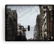 Old Theater District Canvas Print