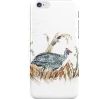 Guineas are winged wonders! iPhone Case/Skin