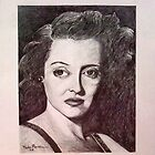 Bette Davis Portrait by Paula Busto