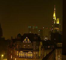 Frankfurt Night Streetscape 2 by MDSMedia