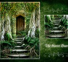 The Secret Door - september by Angie Latham