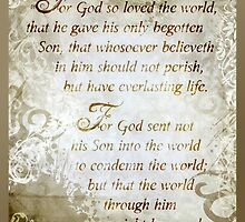 John 3:16-17 by Sabrina Thompson