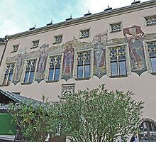 Old Town Hall, Passau, Germany by Margaret  Hyde