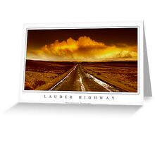 Lauder Highway Greeting Card