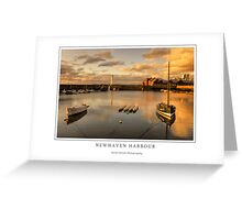Newhaven Harbour Greeting Card