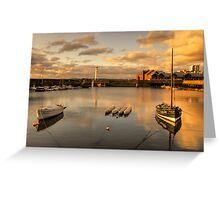 Newhaven Harbour (No Border) Greeting Card