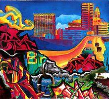 The City by sadeyedartist