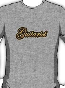 Guitarist Gold T-Shirt