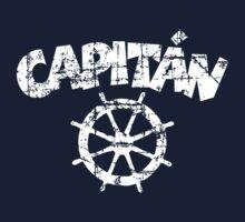 Capitan Wheel Vintage White Kids Clothes