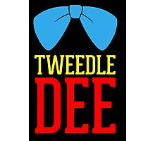 FUnny Tweedle Dee - Tweedle Dum for couples Photographic Print