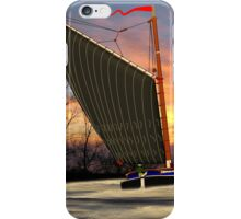 Norfolk Wherry and Windmill, Norfolk Broads - all products iPhone Case/Skin