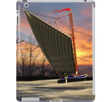 Norfolk Wherry and Windmill, Norfolk Broads - all products iPad Case/Skin