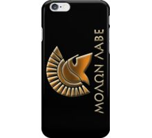Molon lave-Spartan warrior-lithos font iPhone Case/Skin