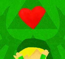 Legend of Zelda Valentines Day Card Sticker