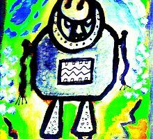 Kachina Bot by JimiAnasazi