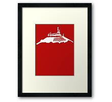 Space Mountain Icon Framed Print