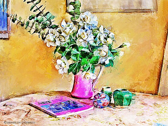 Gardenias by © Helen Chierego