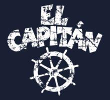 El Capitán Wheel Vintage White Kids Clothes