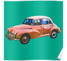 Old colorful car Poster