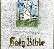 66 - FAMILY BIBLE - DAVE EDWARDS - FROTTAGE WITH COLOURED PENCILS - 1996 by BLYTHART