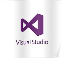 Visual Studio 2012 Logo (Purple) Poster