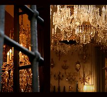Chandelier Shop, Florence by Laura Cameron