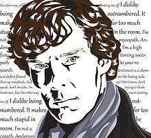 Thoughts of Sherlock Holmes by MadianR
