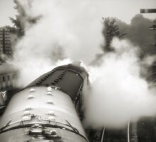 Wings of steam by clickinhistory