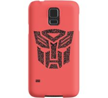 Transformers Autobots Samsung Galaxy Case/Skin