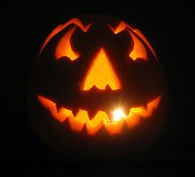 My first Jack O'lantern by Graham Ettridge