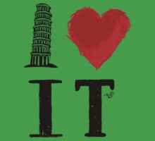 I Heart Italy (remix) Kids Clothes
