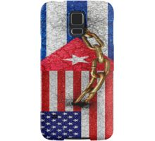 United States and Cuba Flags United Design Samsung Galaxy Case/Skin